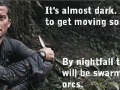 Bear Grylls in NZ