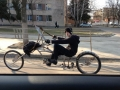 Dangerous russian cyclist