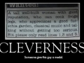 Cleverness
