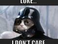 Grumpy Vader
