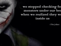 Joker's deep words..