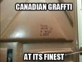 Best Canadian Graffiti
