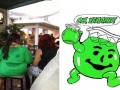 Kool Aid monster exists!
