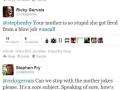 Stephen & Ricky on twitter