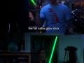 Glow stick vs. Lightsaber