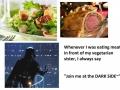 The delicious dark side