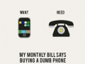 Want & Need: Phone