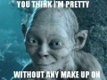 Girls without make-up