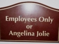 Not Just Employees Only