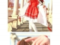 Cute cosplay girl revealed