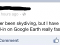 We've all been skydiving