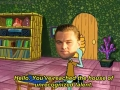 Leo answering the phone