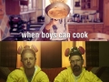 When boys can cook