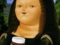 Fat version of Mona Lisa