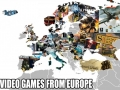 Video games from Europe