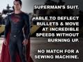 Superman's suit