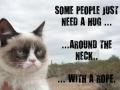 Some people need a hug..