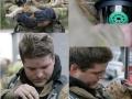 Man saves cat