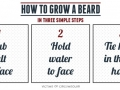 Beard growing tips