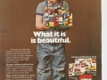 Lego advert from 1981