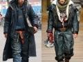 Beggar in China VS Model