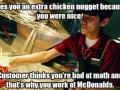 Misunderstood McD's Guy