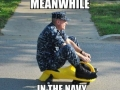 Meanwhile in the navy