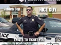 Different types of cops