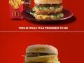 My life is a sad Big Mac
