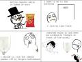 Eating cheetos