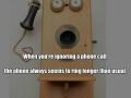 Ignoring phone calls
