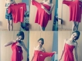 Make a dress out of bf's tee
