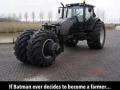Batman's tractor