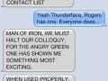 Avengers conversation