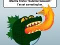 Godzilla Flamewolf