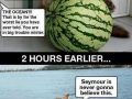 Cats and watermelons