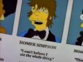 Homer's yearbook photo