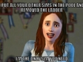 Overly attached Sim