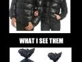 Bin liner coats