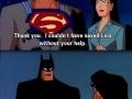 Batman and modesty