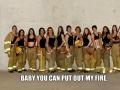 Pickup line to fire-women