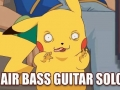 Pikachu rockin' out