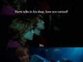 Harry talks in his sleep