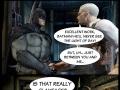 Batman can't stand Bieber!
