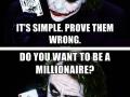 Simple advice from Joker