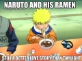 Naruto and ramen