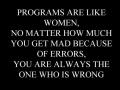 Programmer's wisdom