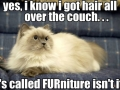 It's called furniture