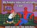 Role model Spiderman