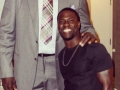 Kevin Hart with Shaq